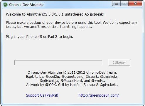 Absinthe for Windows