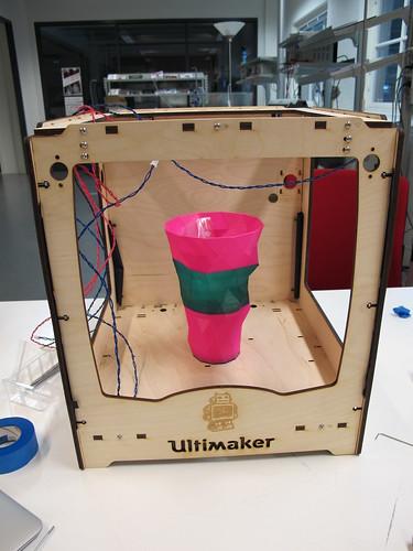 Assembling the Ultimaker