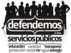defendemos los servicios públicos