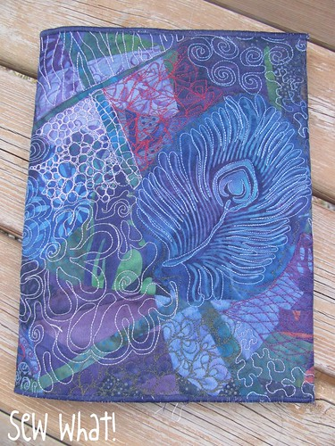 Class 4 Quilted Journal Cover Sew What