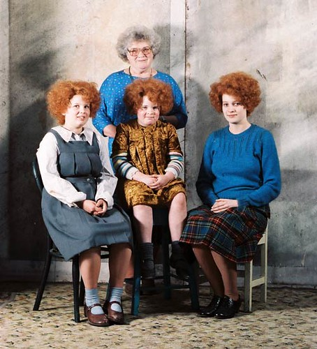 Janet Frame with Alexia Keogh, Karen Fergusson, and Kerry Fox