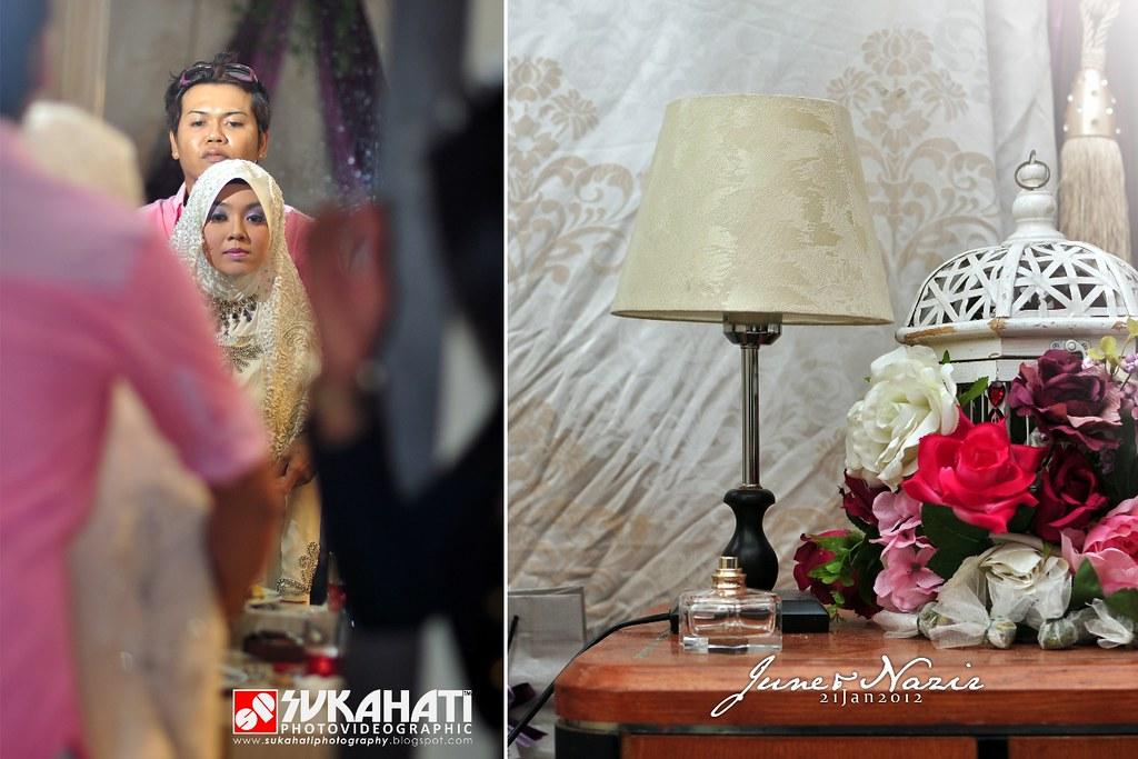 jun+nazir kahwin