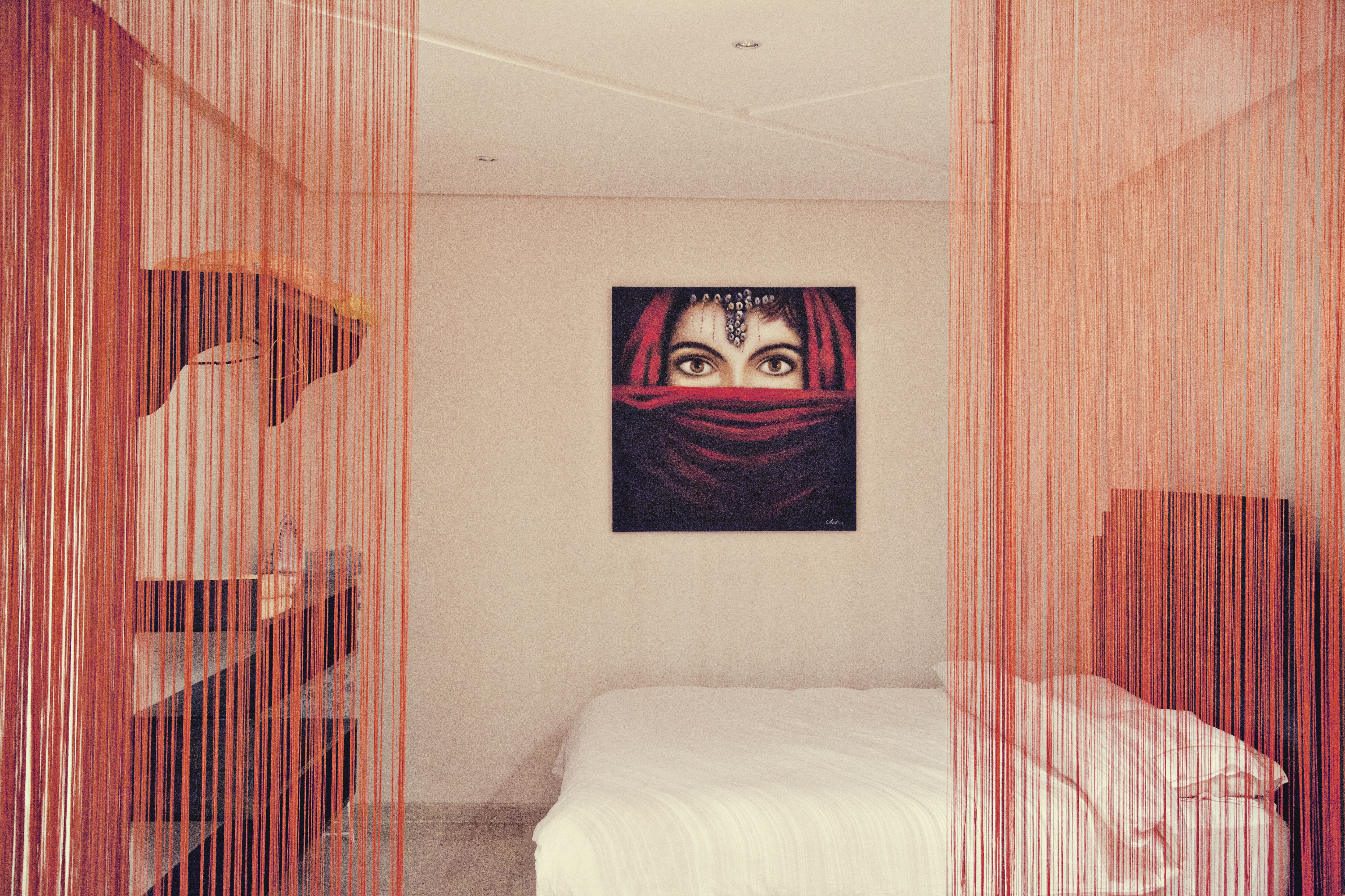 bedroom in marrakech