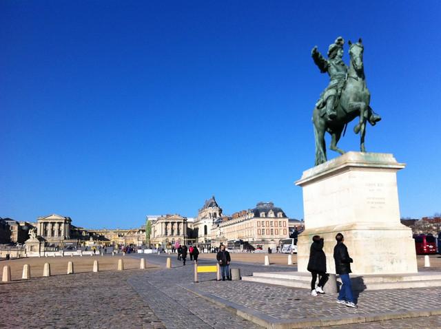 Blue sky Versailles