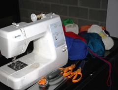 sewing machine(1.0), art(1.0),