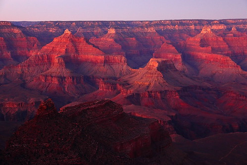 IMG_4170 Dusk from El Tovar, Grand Canyon National Park by ThorsHammer94539