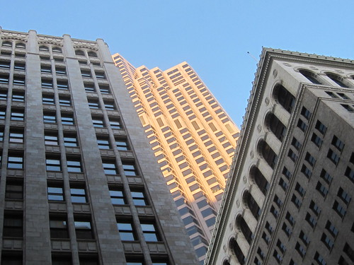 Sunlit Skyscraper