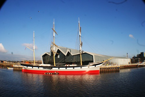 Tall Ship and Riverside Museum, Glasgow