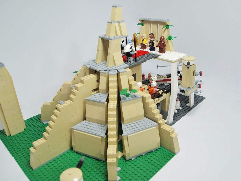 Moc Wip Yavin Iv Lego Star Wars Eurobricks Forums