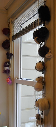 Window Yarn Hangings