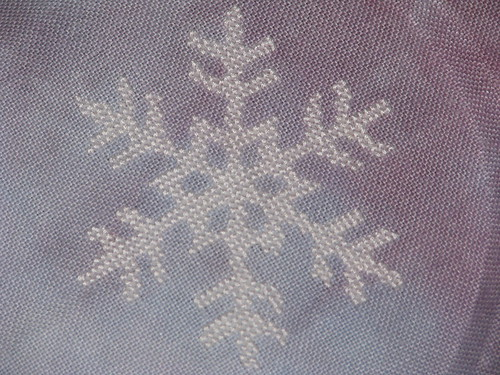2012 Ornament Pattern Club Cross Stitch Snowflake