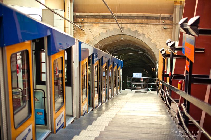 Покупая билет на метро в Неаполе