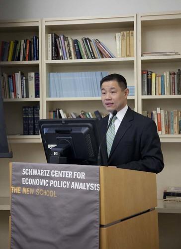 Comptroller Liu at Podium
