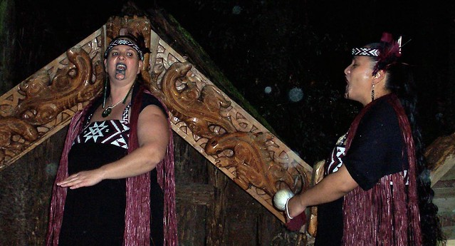 Maori Village, Rotorua, New Zealand