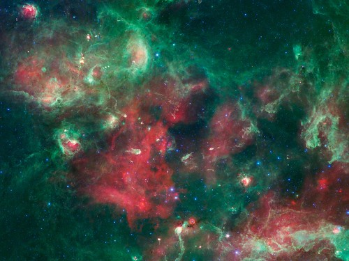 Before They Were Stars: New Image Shows Space Nursery