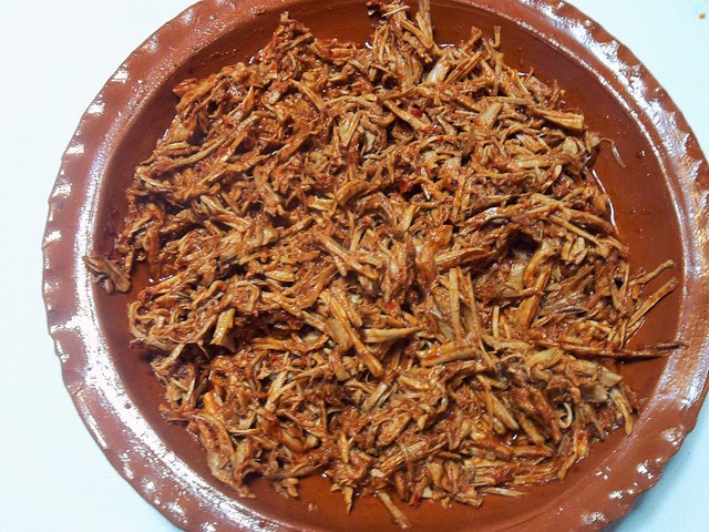 Shredded Pork Tamale Filling