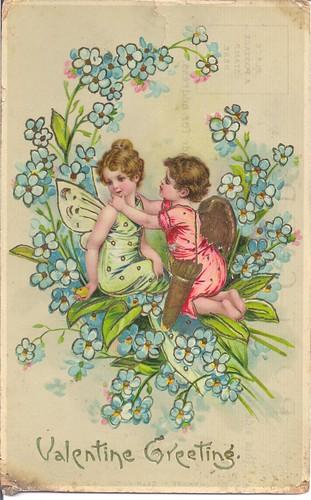 Vintage Valentine Greeting-1909