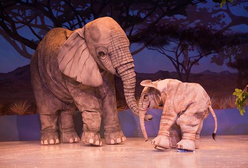 Iceploration Elephant Stiltwalkers in the Serengeti