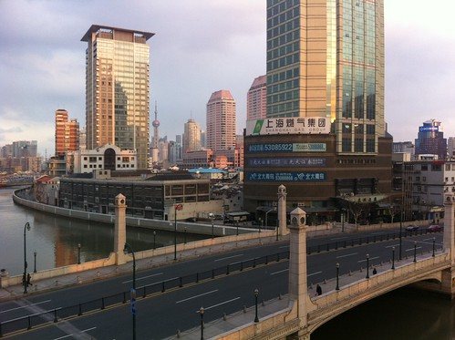 5 PM in Shanghai - Many people still didn't come back from Chinese New Year?