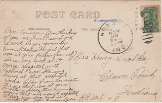 Third and Main, PM 1908 verso