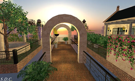 Romantic Garden in the Sky (sky3, v1.0b), 1999 lindens by Cherokeeh Asteria