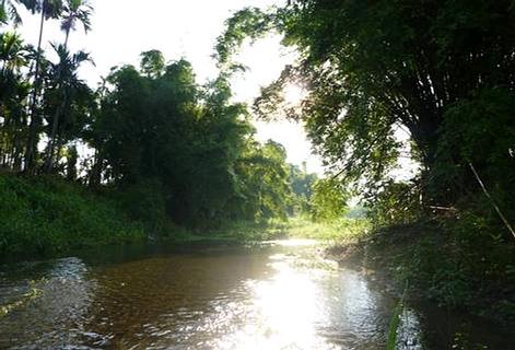 五溝溪獨特的景觀,有香格里拉之稱。(圖片來源:朱玉璽)