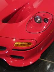 model car(0.0), wheel(0.0), ferrari 360(0.0), muscle car(0.0), automobile(1.0), automotive exterior(1.0), vehicle(1.0), automotive design(1.0), ferrari f50(1.0), bumper(1.0), land vehicle(1.0), luxury vehicle(1.0), supercar(1.0),