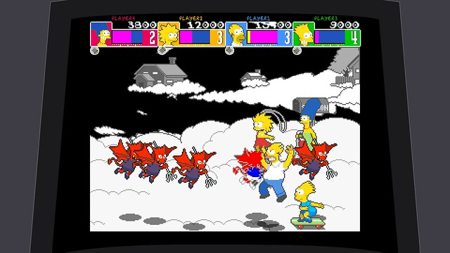 The Simpsons Arcade Game for PS3 (PSN)