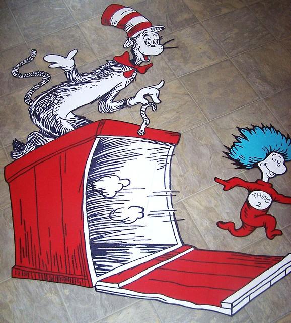 6814614117 b36546ba97 for Dr seuss wall mural