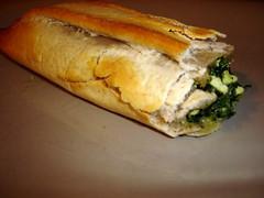 cheesesteak(0.0), bread(1.0), baked goods(1.0), ciabatta(1.0), food(1.0), dish(1.0), cuisine(1.0), baguette(1.0),