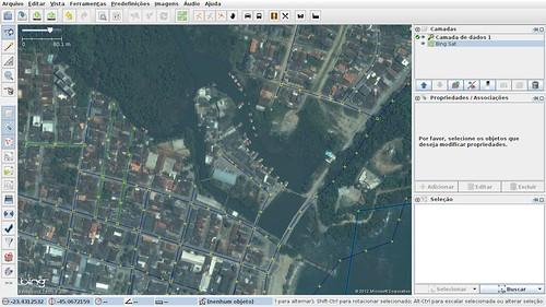 JOSM - Foto aérea - Ilha dos pescadores