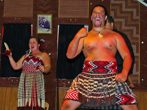 Maori Haka Performance Te Puia Rotorua
