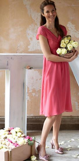 Boden vintage silk dress