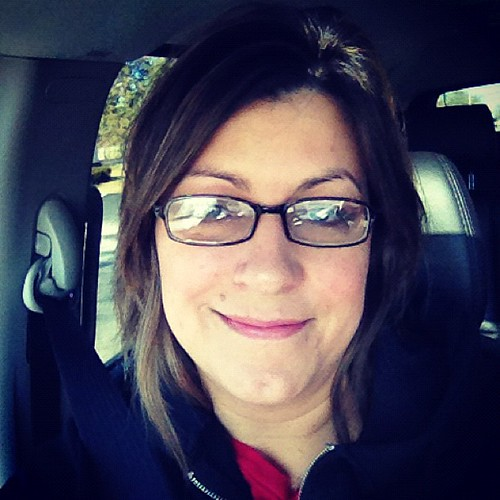 Day Five #febphotoaday - 10am. Had to wear glasses, left eye was swollen this am.