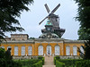 The Windmill and the New Chambers, Palace Sanssousi, Potsdam, Germany by Ferry Vermeer