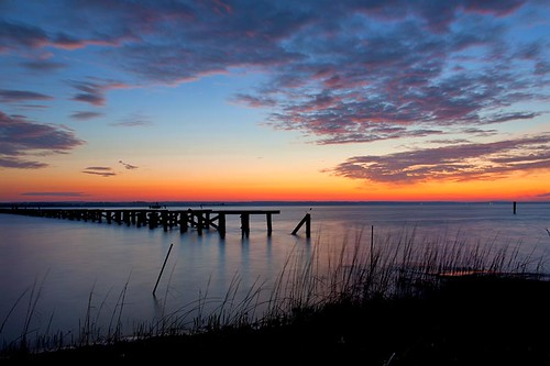 old morning colors grass clouds sunrise river dawn virginia pier twilight structure va demolished piles tappahannock rappahannockriver