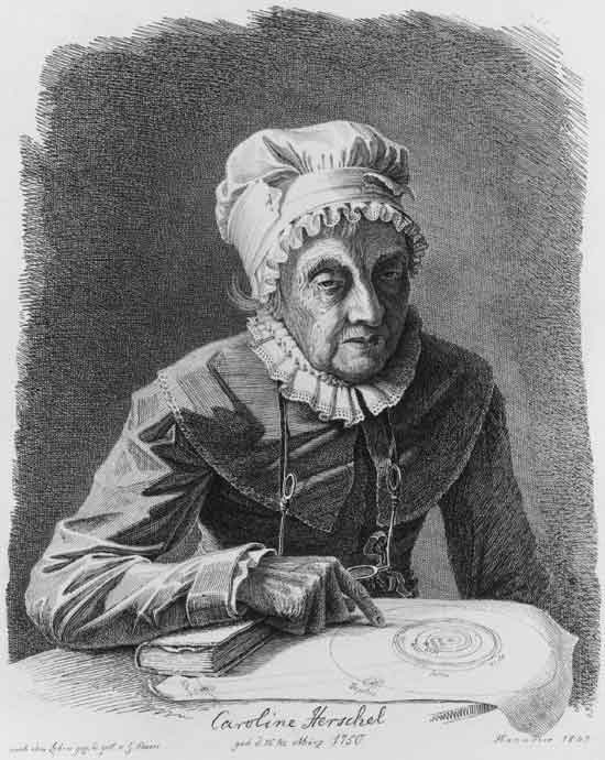Caroline Herschel - Discoveries of Comets 35P/Herschel-Rigollet
