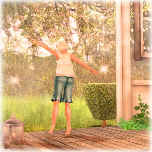 Luna Jubilee's Windlight Setting: Springscape