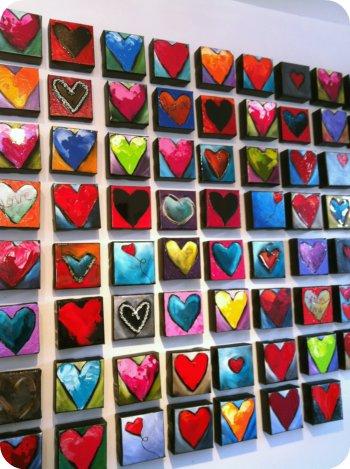 Wall of h'arts