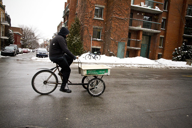 Montreal Cargo Bike Delivery