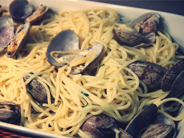 Receta: Spaghetti alle vongole