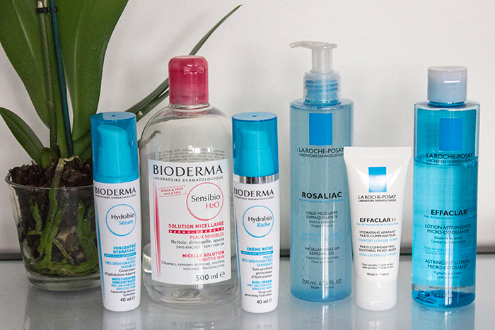 French Pharmacy Bioderma and La Roche-Posay