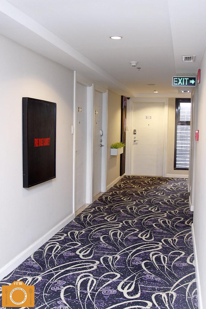 B Hotel Hallway