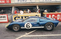 Andretti - Binanchi Ford GT40 Mk. II at Le Mans 1966