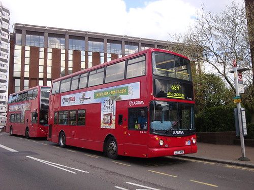 Arriva London DLA388 on Route 689, East Croydon Station