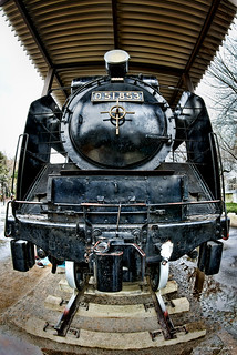 HDR Photo: Steam Locomotive 'D51'