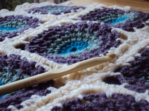 Mantas de bebé tejidas a crochet/ Crocheted baby blankets