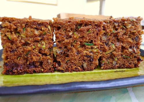 Zucchini Bread side view by sherimiya ♥