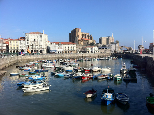 Harbor in Castro  Urdiales