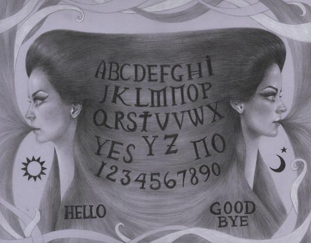 Artemis Spirit Board-Jessica Ward